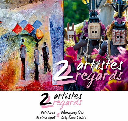 exposition 2 artistes 2 regards